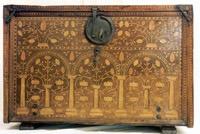 Schreibkasten mit Intarsien, 16. Jahrhundert, vermutlich südlicher deutschsprachiger Raum