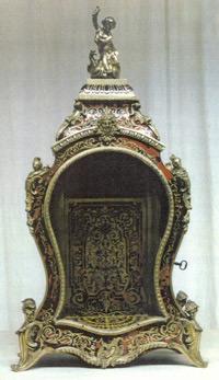 Boulle-Uhr, 19. Jahrhundert